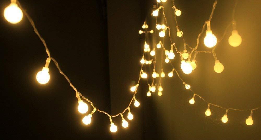 Guirnalda de luces para terraza