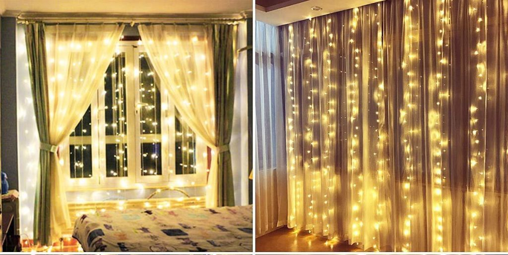cortina de luces led Anpro