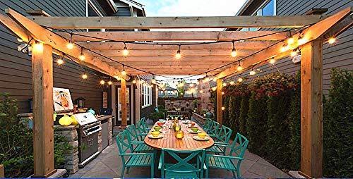guirnaldas solares para jardín